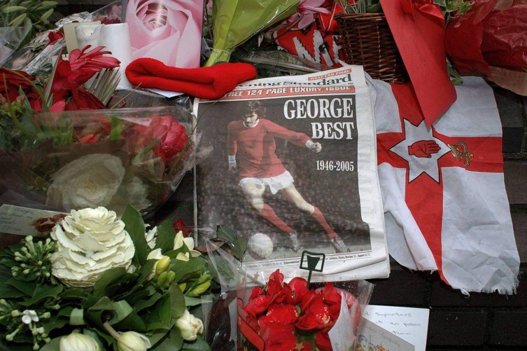 2005 wurde in Manchester um George Best getrauert.