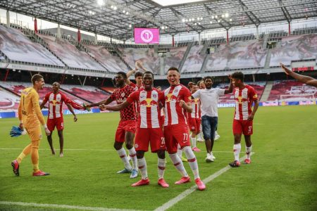 Fußball, Österreich, rb Salzburg, lask, Bundesliga, Salzburg, Meistertitel
