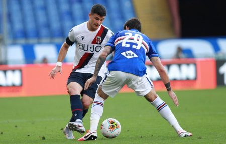 Musa Barrow and Riccardo Orsolini scored as Bologna beat Sampdoria by 2-1. Federico Bonazzoli scored the only goal for Sampdoria.