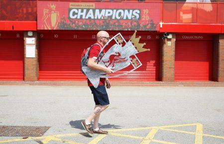 FC Liverpool Meistertrophäe Anfield
