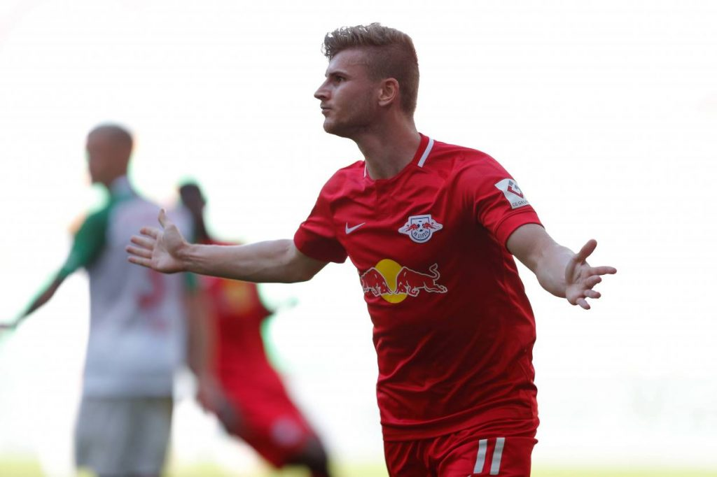 Timo Werner RB Leipzig FC Augsburg