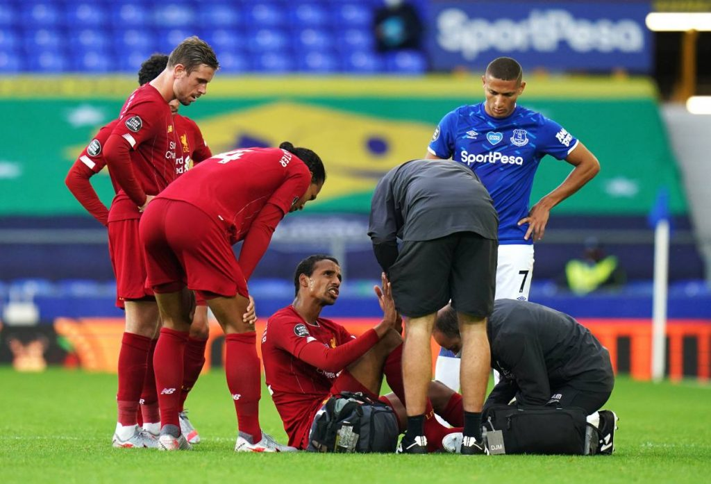 latest on Joel Matip's injury
