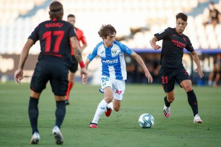 Sevilla went 5 points clear at 4th position after beating relegation-threatened Leganes. Oliver Torres scored twice for Sevilla.