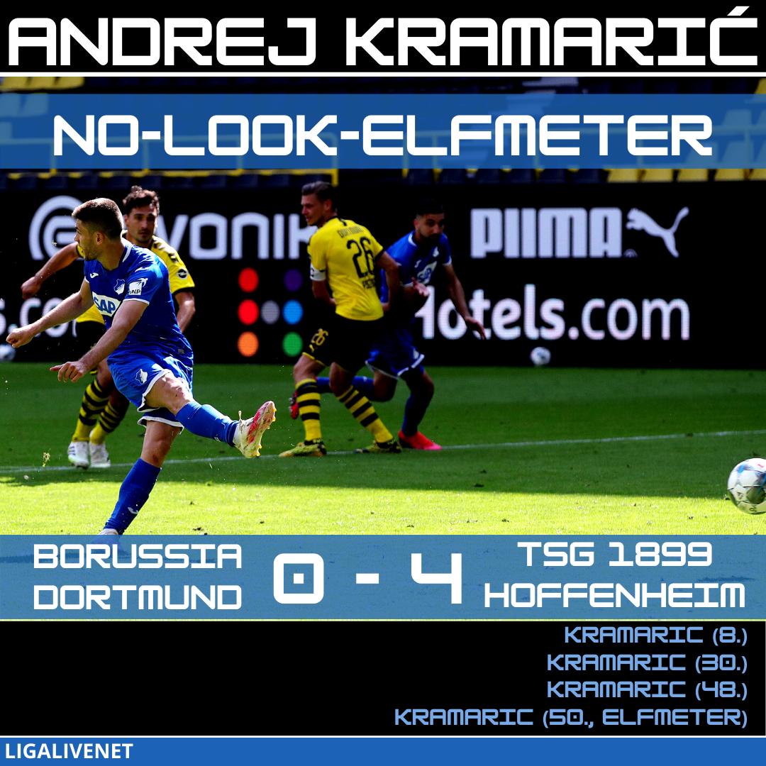 Andrej Kramaric No Look Elfmeter