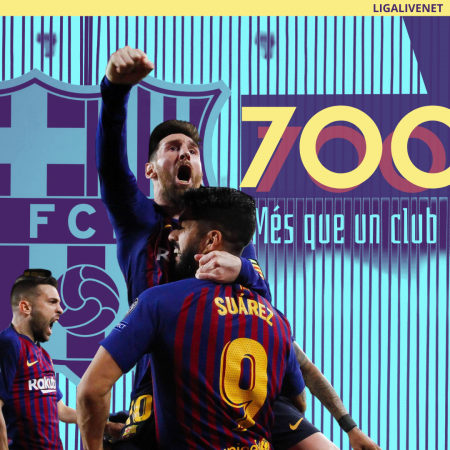 Messi scores his 700th career goal