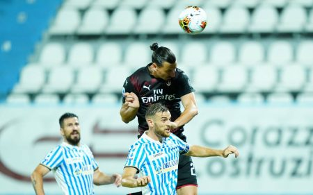 SPAL's time at Italian top-flight seems over after they surrender a 2-0 lead against AC Milan. SPAL played last 45 minutes with a man short.