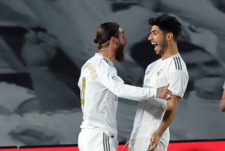 Sergio Ramos' late winner against Getafe extends Real Madrid's lead to 4 points at the top of La Liga. Dani Carvajal won the penalty for Los Blancos.