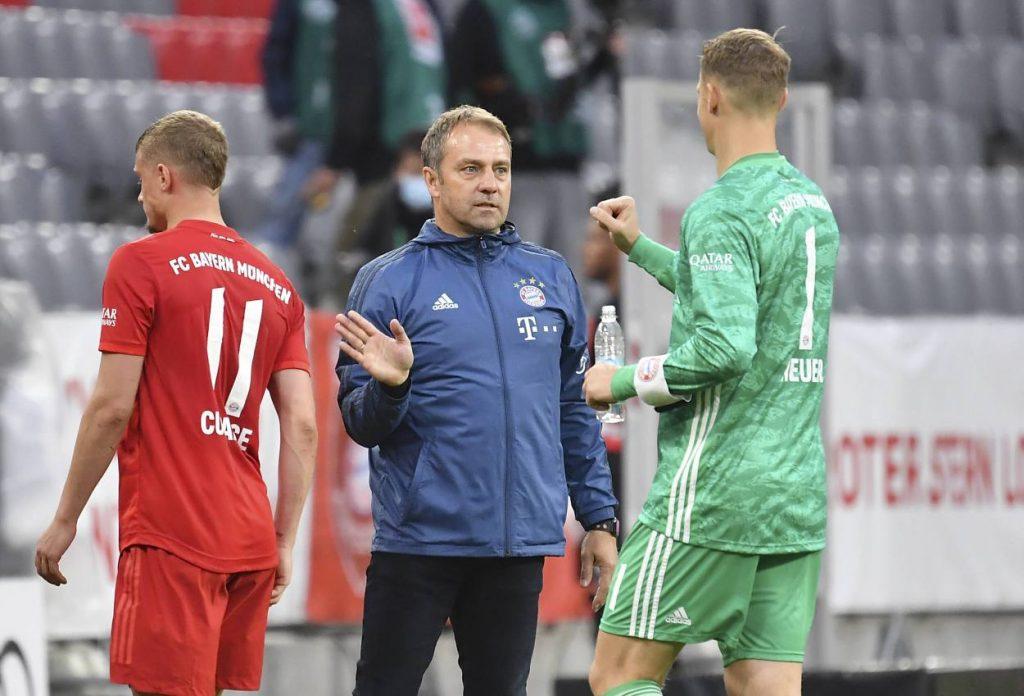 Hansi Flick, Manuel Neuer, FC Bayern München