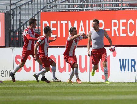 3. Liga, FC Würzburger Kickers, Hallescher FC, fußball, aufstieg