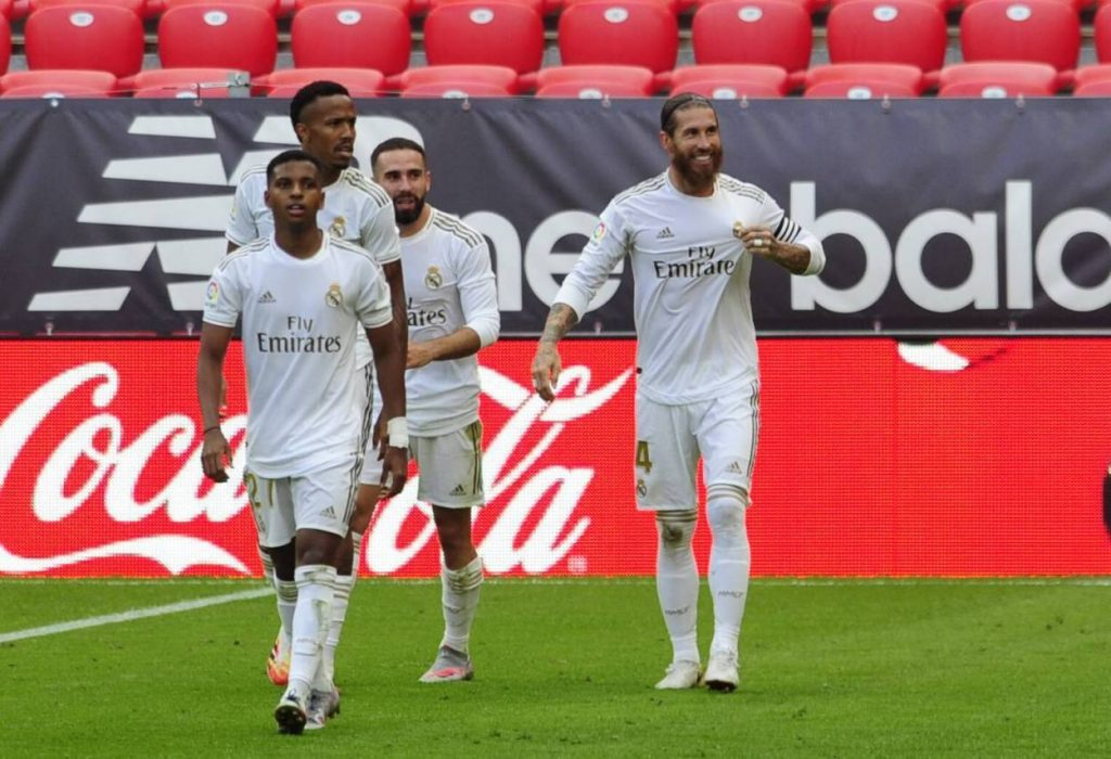Spanien, La Liga, match, Athletic Bilbao, Madrid, ramos