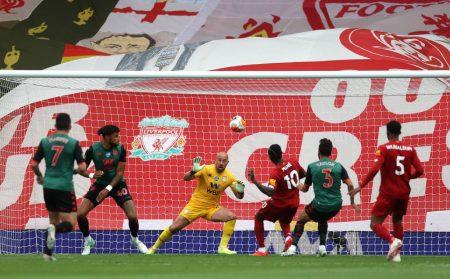 Premier League Match in Anfield