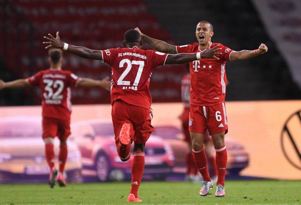 Thiago, Alaba, FC Bayern München
