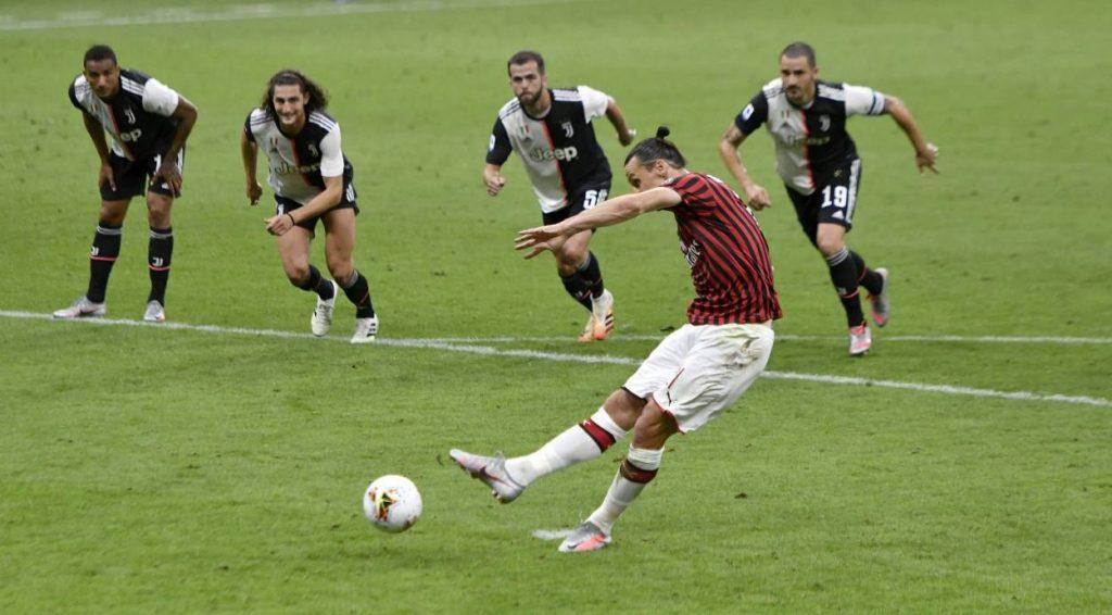 Zlatan Ibrahimovic AC Mailand Juventus Turin