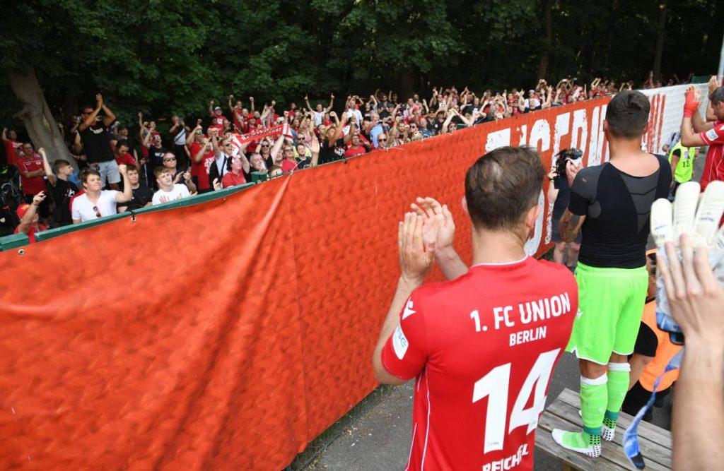 Union Berlin, Fans, zuschauer im stadion, bundesliga, fußball, saison