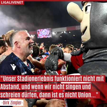 Union Berlin plant über 20 000 Tests für die Fans