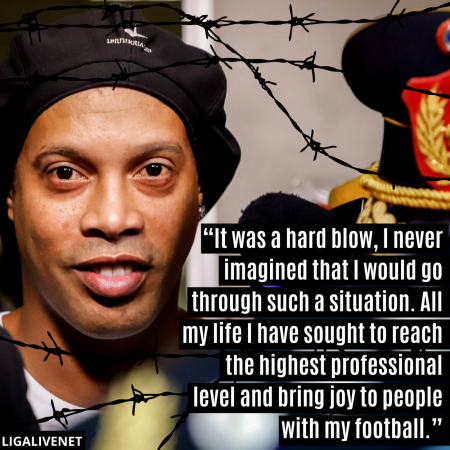 Ronaldinho Prison interview