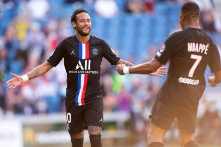 Neymar, Mbappe, PSG