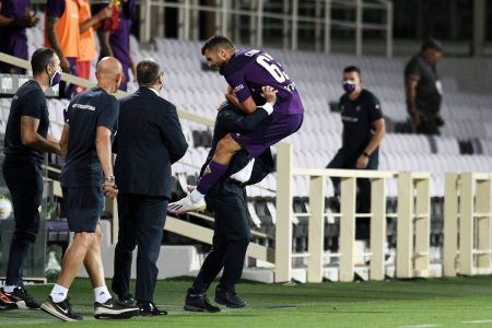 Patrick Cutrone's injury time equaliser help Fiorentina draw against Hellas Verona. Verona remain 9th and Fiorentina 13th in the league table.
