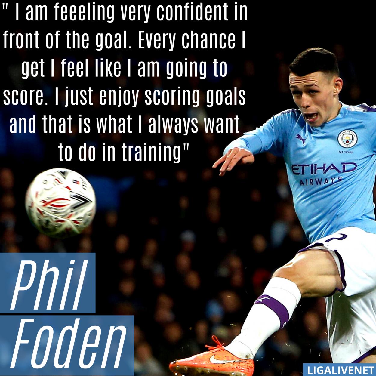 Phil Foden Interview