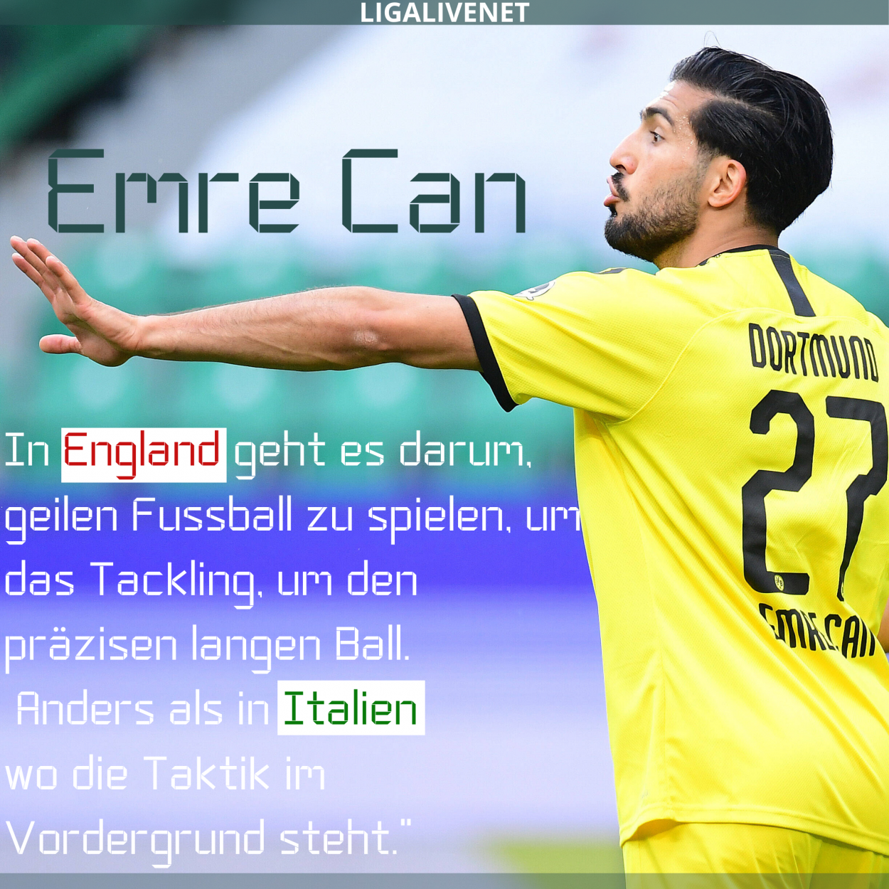 Emre Can interview
