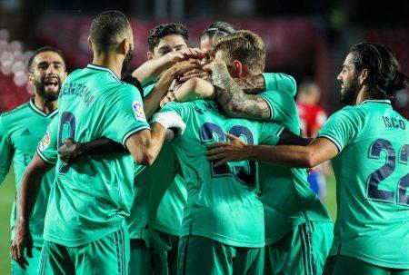 FC Granada - Real Madrid 1:2