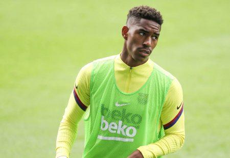 Barca star Junior Firpo agrees to Inter Milan move