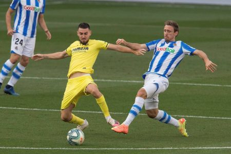 Real Sociedad beat Villarreal by 2-1 and climb 7th in La Liga table. Willian Jose and Diego Llorente were on the scoresheet for the visitors.