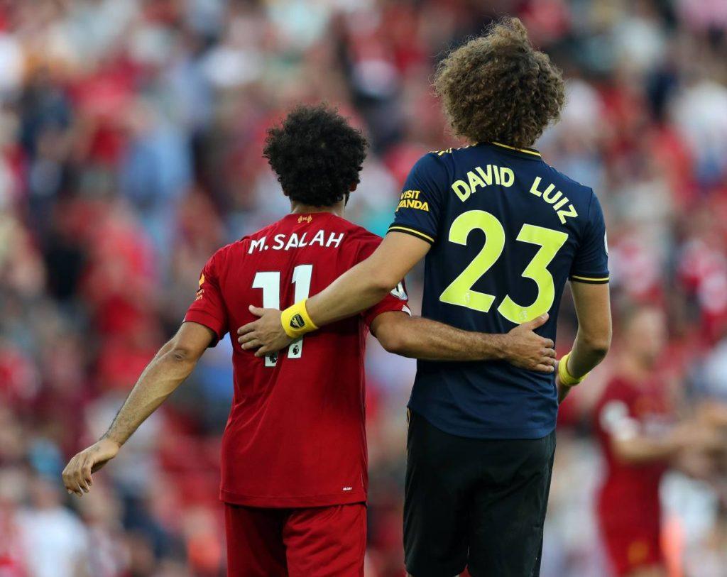 Salah, Luiz, Arsenal, Liverpool