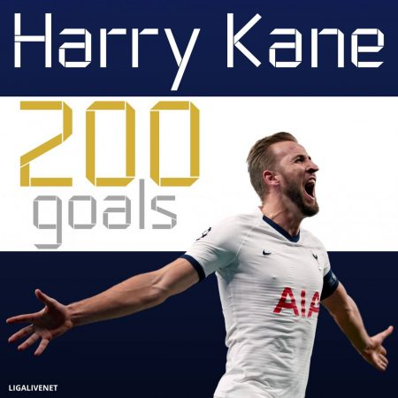 200 goals Harry Kane