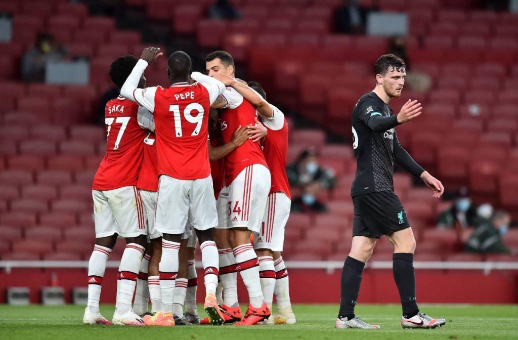 FC Arsenal FC Liverpool 2:1