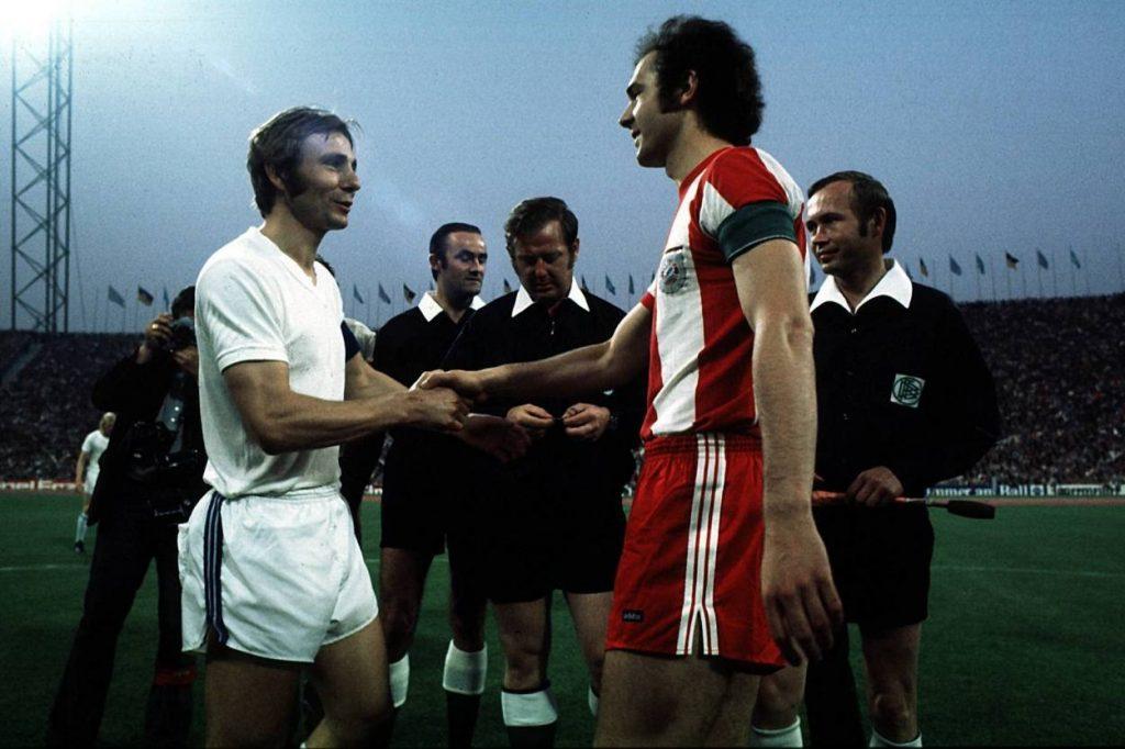 Reinhard Libuda (links) war – genauso wie Franz Beckenbauer – eine prägende fußballerische Figur seiner Zeit.