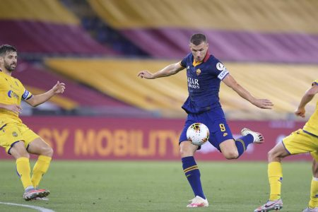 AS Roma are now 4 points clear at 5th position in Serie A after beating Hellas Verona by 2-1. Edin Dzeko was on target for the home side.