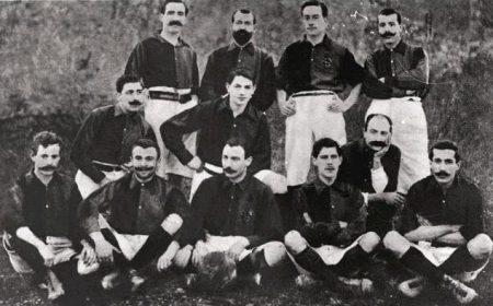 Die historischen Deutschen beim FC Barcelona im Bild