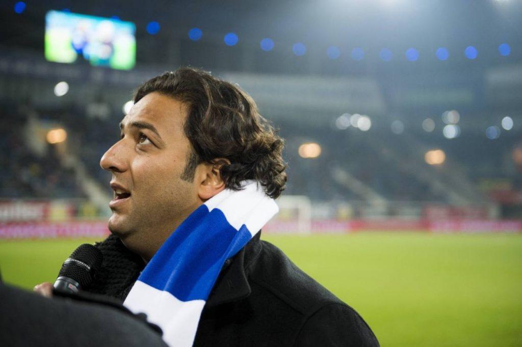Gut genährt zurück in Gent: Ägyptens Fußball-Idol Mido im März 2018.