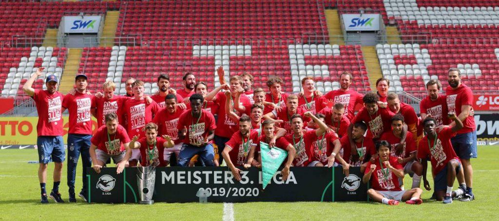 FC Bayern München II - Meister 3. Liga 2020