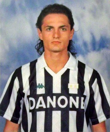 Andrea Fortunato im Trikot von Juventus Turin