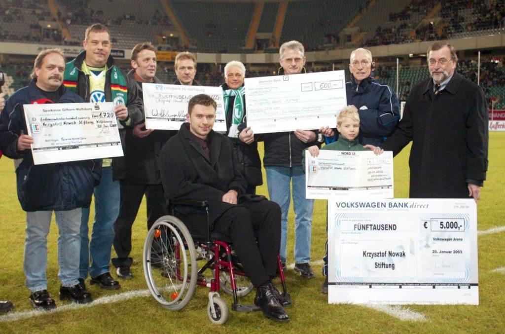 Unterstützung für Nowak und seine Familie.