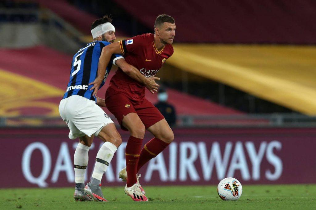 Dzeko, AS Roma
