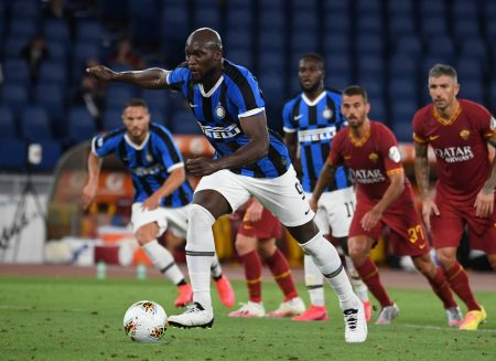 Romelu Lukaku scored late as Inter Milan salvaged a point against AS Roma and move a point clear from 3rd-placed Atalanta.