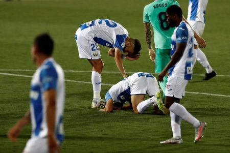 Roger Assale scored late equaliser against Real Madrid but Leganes relegated as they finished the season a point shy off safety.