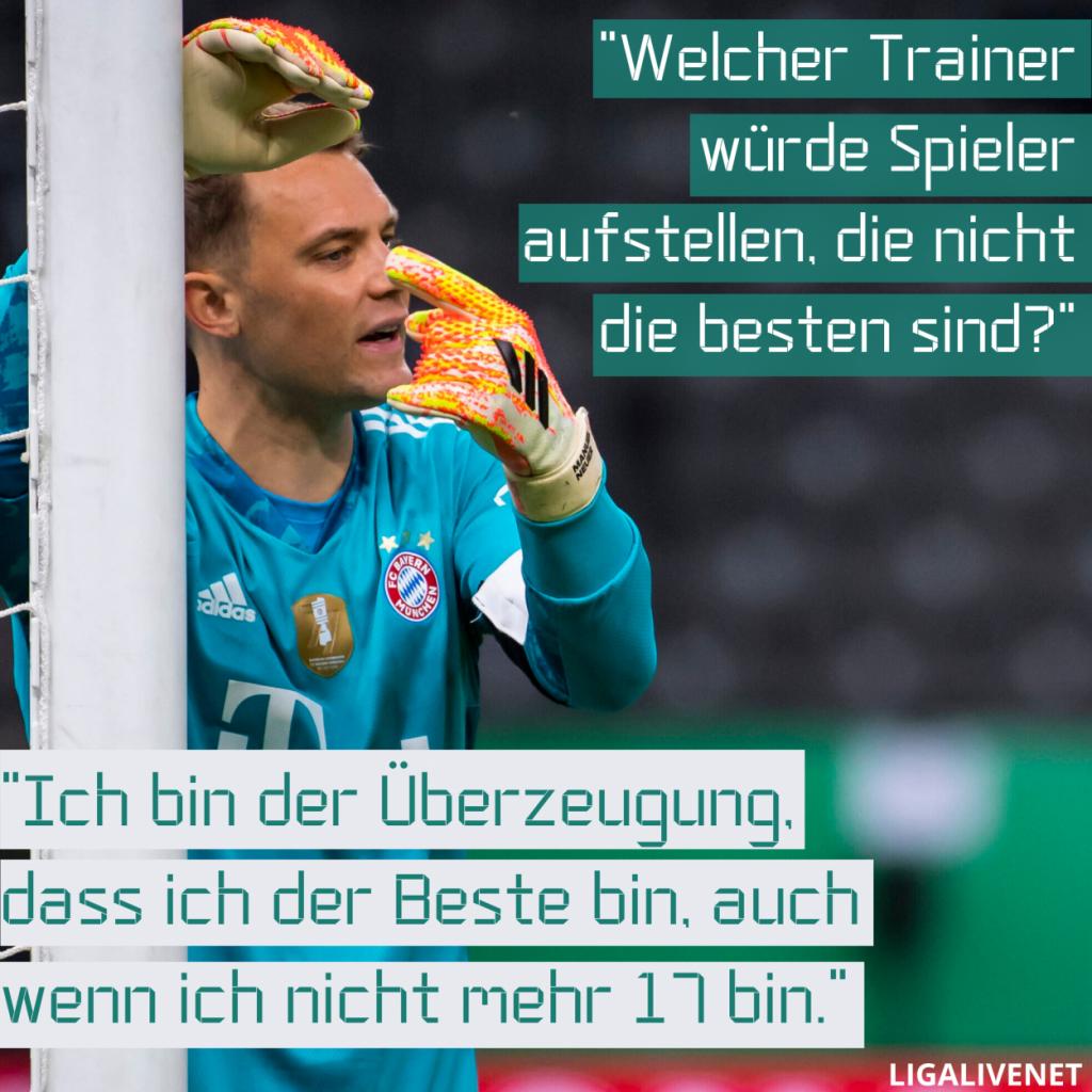 """Manuel Neuer: """"Ich bin der Überzeugung, dass ich der Beste bin."""""""