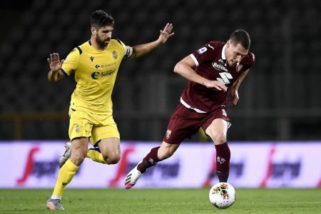 Torino are now six points clear from relegation zone after 1-1 draw against Hellas Verona. Simone Zaza scored the equaliser for the home side.
