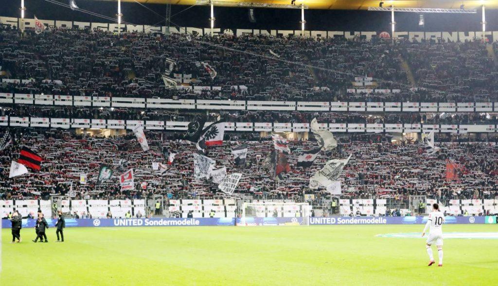 Fußball, Bundesliga, Frankfurt, Fans, Heimspiele