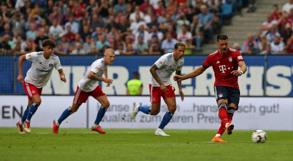 Sandro Wagner FC Bayern München Hamburger SV