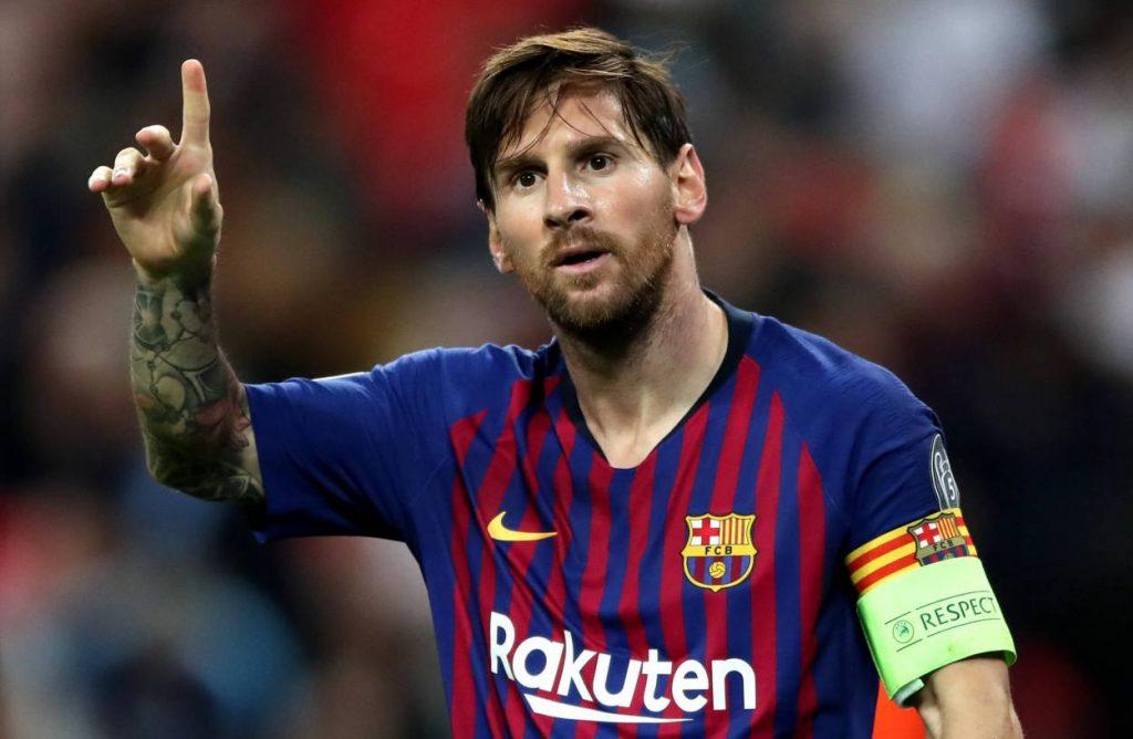 Lionel Messi, FC Barcelona, Kapitän