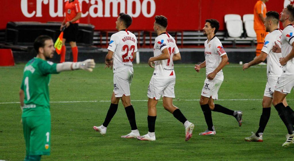 Unnamed Sevilla star tests positive for coronavirus