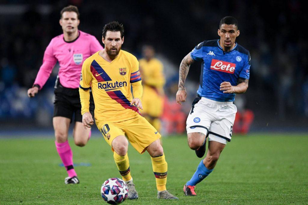 Barcelona, Neapel, Messi, Allan