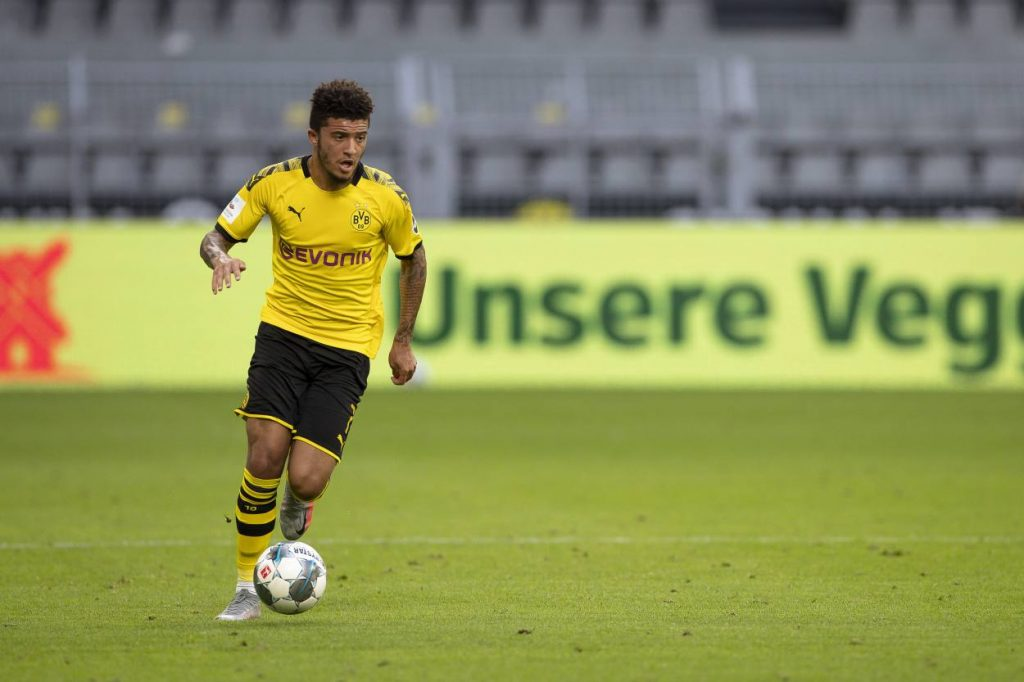 Two clubs lead race to sign Sancho next summer,