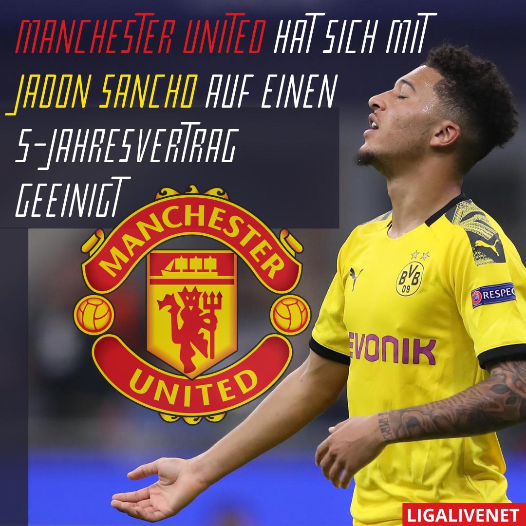 Jadon Sancho Manchester United