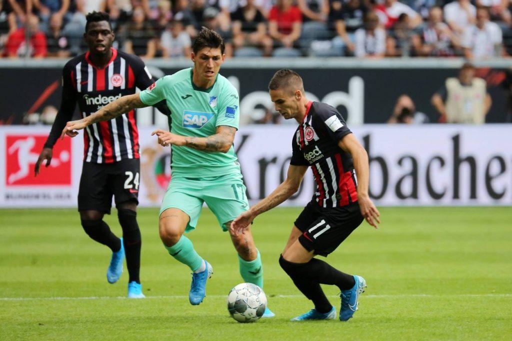 Gacinovic, Zuber, TSG, Eintracht